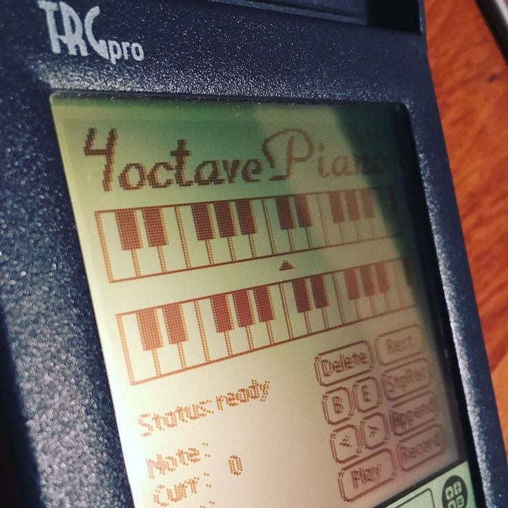 A little known #music #app for the #palmos #trgpro #pda