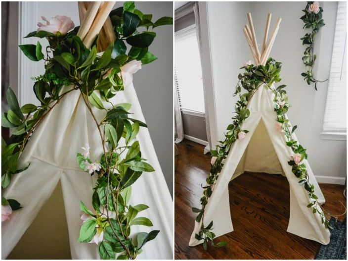 In Two the Wild or Two Wild second birthday toddler party. This teepee was to die for!! www.sbdva.com