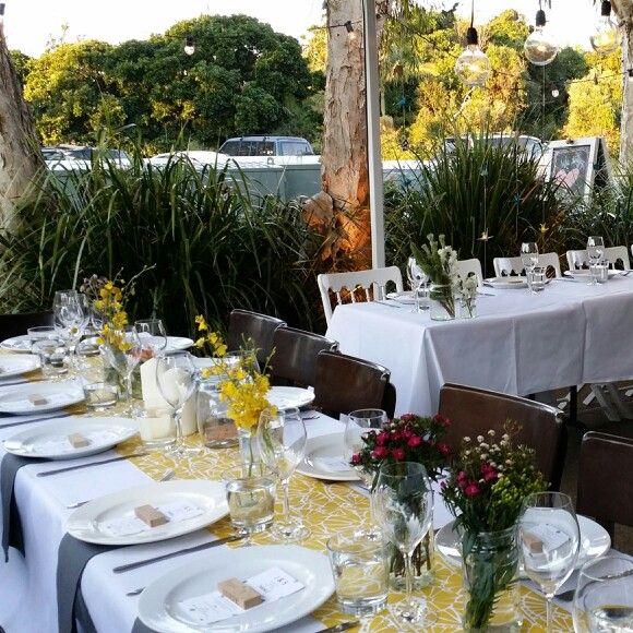 Tablescape - Jireh & Sho's Belongil Beach wedding yesterday.  #weddings #weddingstyling #beachweddings #byronbay #weddings