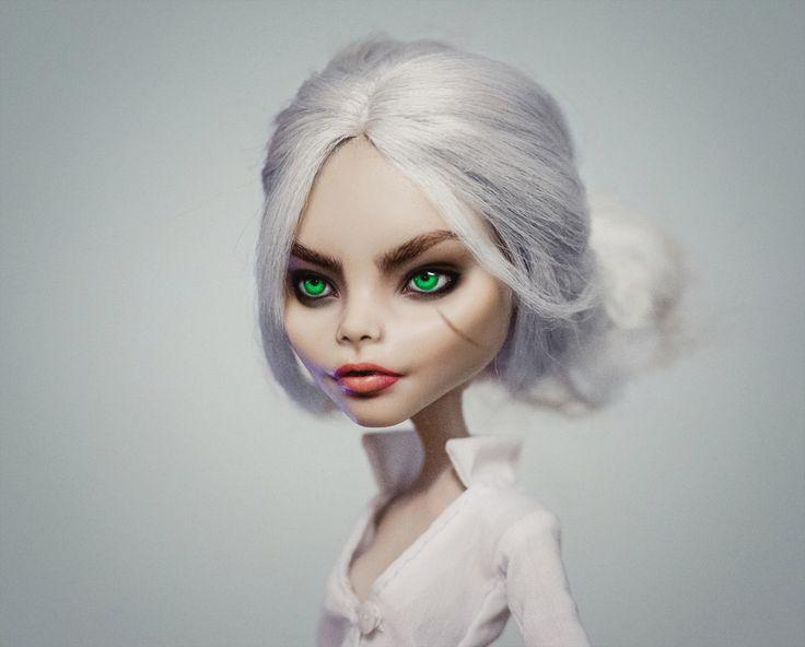 Cara Delevingne as Ciri Well… now I wanna do a full cosplay x)))