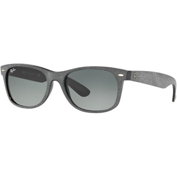 Ray-Ban Wayfarer Multicolor Sunglasses - rb2132 (7,300 DOP) ❤ liked on Polyvore featuring accessories, eyewear, sunglasses, ray ban sunglasses, ray-ban wayfarer, ray ban eyewear, colorful glasses and colorful wayfarer sunglasses