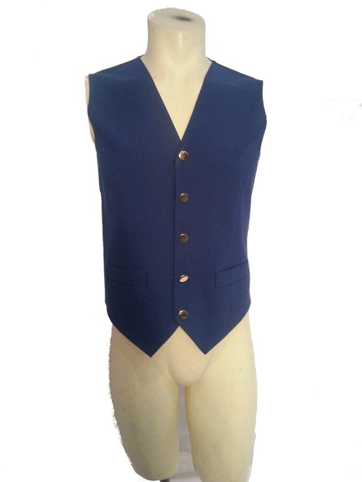 Mens Waistcoat Formal Blue £9.99 #bizitalk #locatebiz