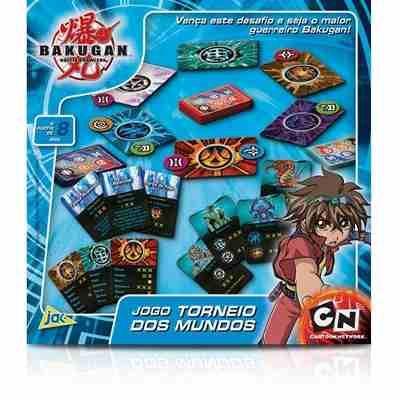 Bakugan Torneio Dos Mundos Toyster Cartoon Network Lacrado - R$ 42,99 no MercadoLivre