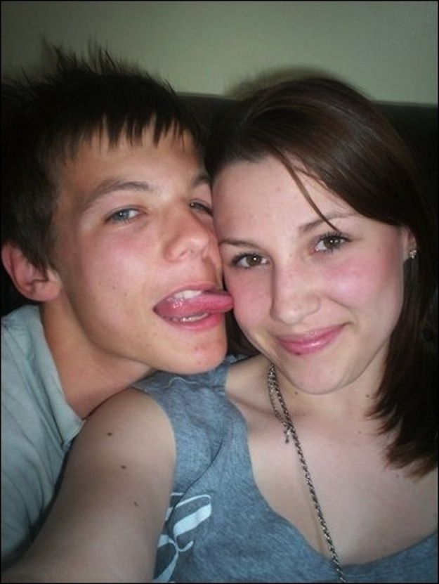 The Most Awkward Pictures Of One Direction Before They Were One Direction>>>> Repin of u know who this is>>>Harry