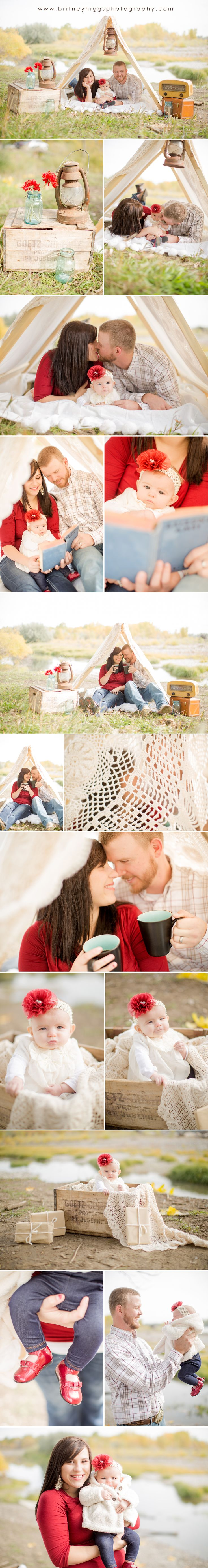 Camping Family Session! #family #photography