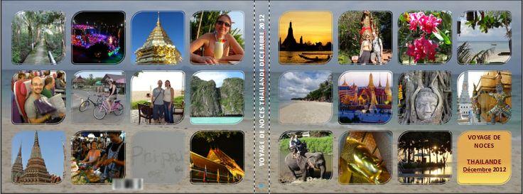 cover créative de notre album photo Pixum Thailande