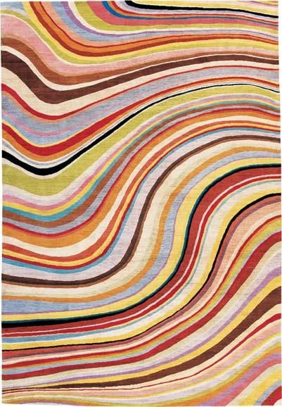 Pretty pretty from Paul Smith; great way to add color to a larger space without overloading guests.