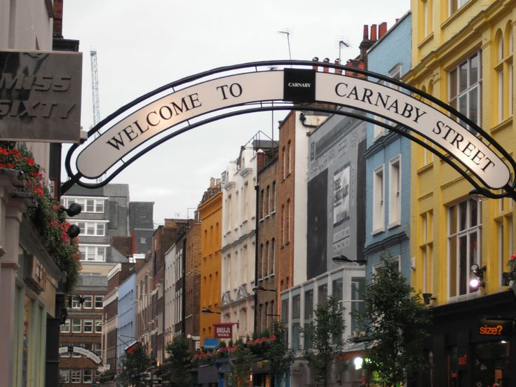 Знаменитые улицы Лондона - Карнаби-стрит и Портобелло-роуд
