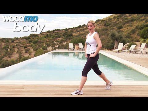 Bauch Beine Po - Fatburner Workout für zuhause mit Janina Schmoll - HD1080p - YouTube