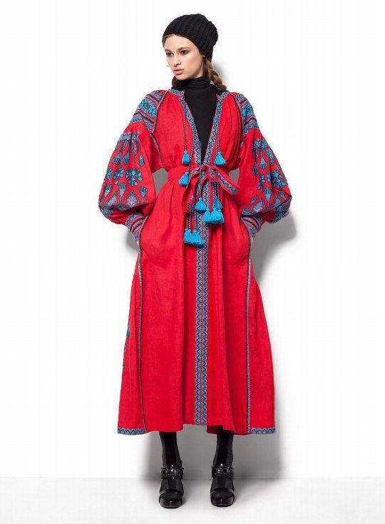 Vyshyvanka Boho Vita Kin Style Ethnic by UkrainianArtsCrafts