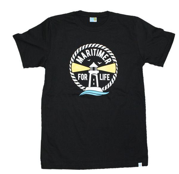 Black Maritimer For Life T!