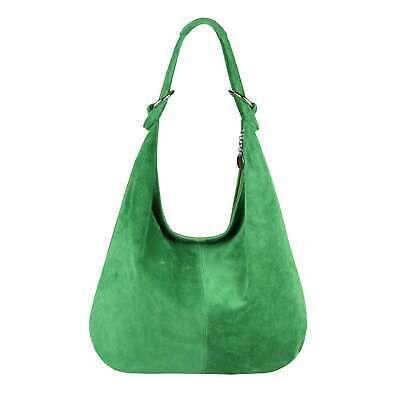 ITAL DAMEN LEDER TASCHE Umhängetasche Wildleder Shopper Schultertasche Hobo Bag… – Italyshop24.com