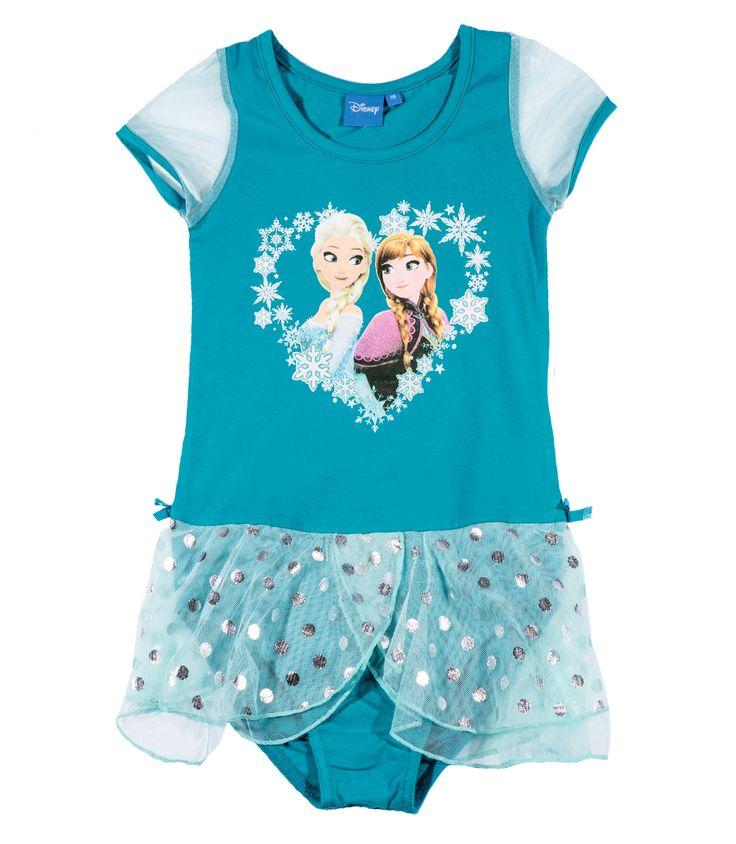 Disney Die Eiskönigin Ballettanzug petrol #Mädchen #Mode #Bekleidung #Girls #Disney #Elsa #Frozen