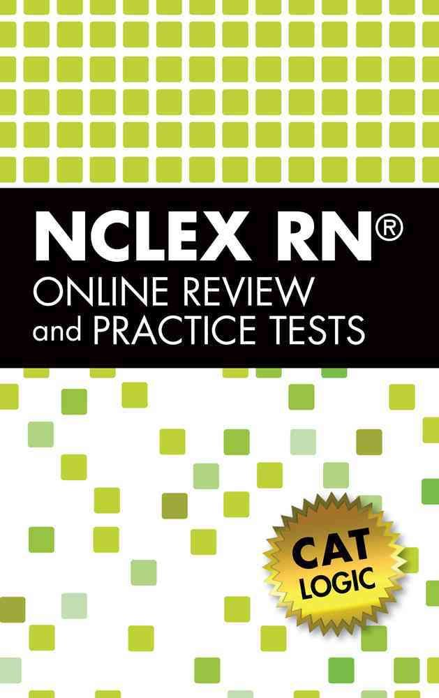 Delmar's Nclex-RN Review Online with CAT Logic Printed Access Code