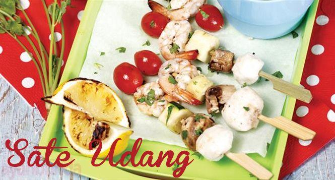 Sate Udang :: Shrimp Satay :: Klik link di atas untuk mengetahui resep sate udang