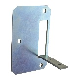 Using the Bute-1 Metal Framing Bracket makes it easy to install the Bute-1 adjustable male wall elbow in metal framing construction projects