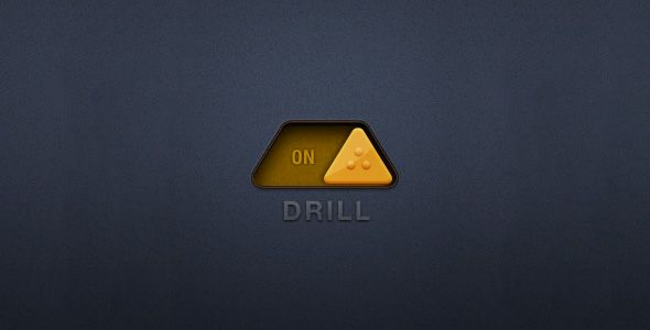 drill on off switch - user interface design