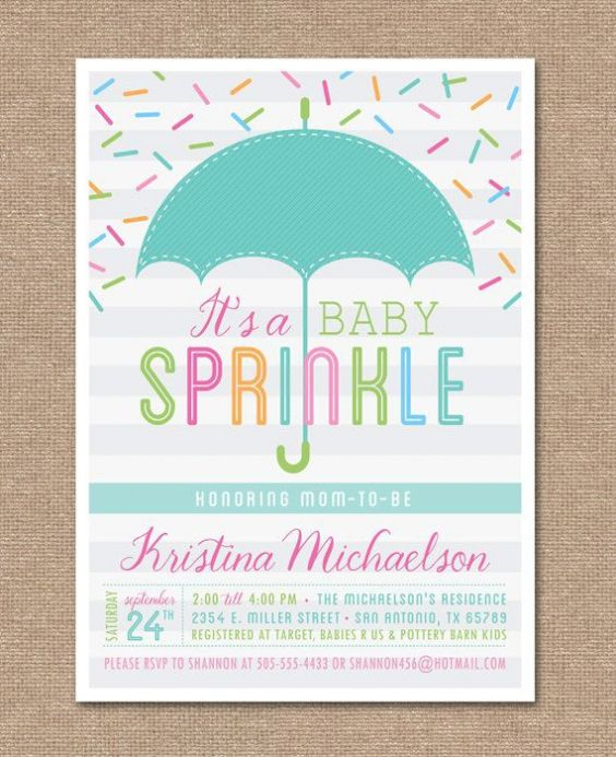 Baby Sprinkle Shower Invitations awesome baby shower invitation card for more tips 6709