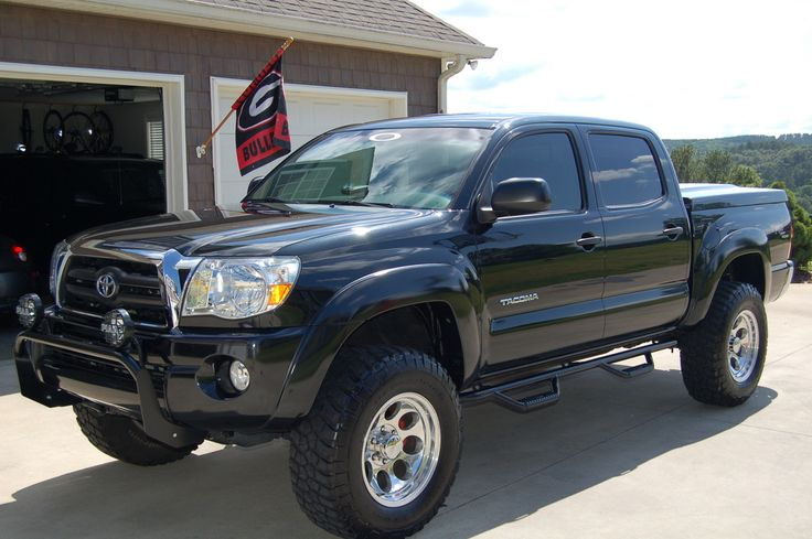 2007 Toyota Tacoma TRD Off Road. 3 inch lift.  17in Mickey Thompson Wheels.  BFG M/T Tires.  Leer Bed Cover.  N-fab Side Steps.  N-fab Light bar with PIAA lights.  Magnaflow Exhaust.  K Cold Air Intake.