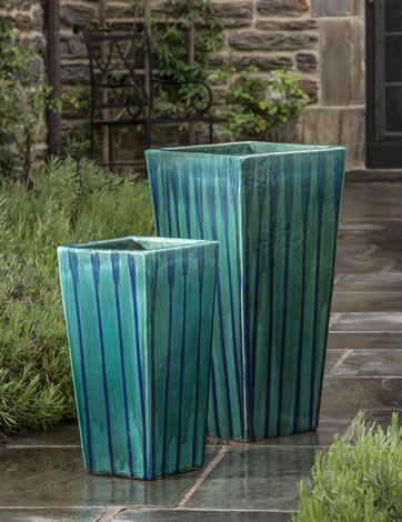 the landmark collection of ceramic planters are made by hand with the earthu0027s most durable iron rich clay - Large Ceramic Planters