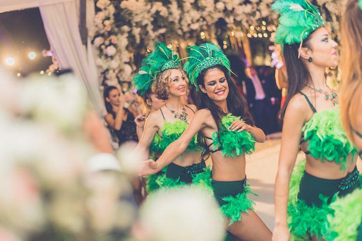 A carnaval wedding