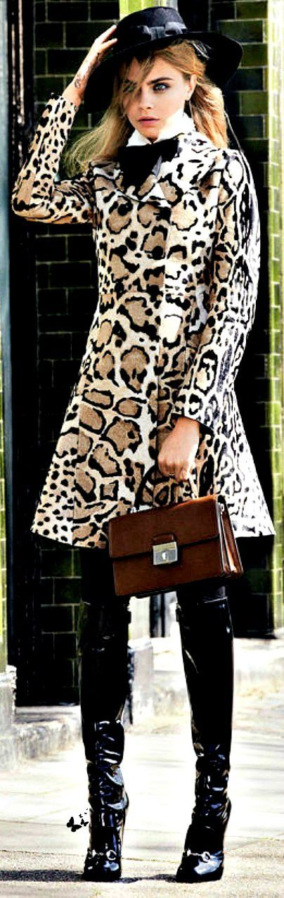 For the love of #animalprints. LEOPARD, STRIPS & PRINTS!