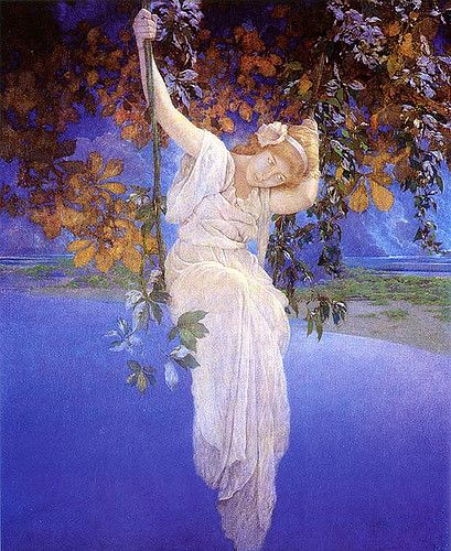 Reveries by Maxfield Parrish-1913