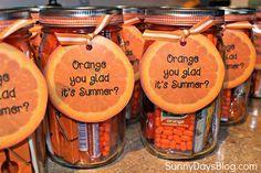 Orange You Glad it's Summer {Gift Idea!}