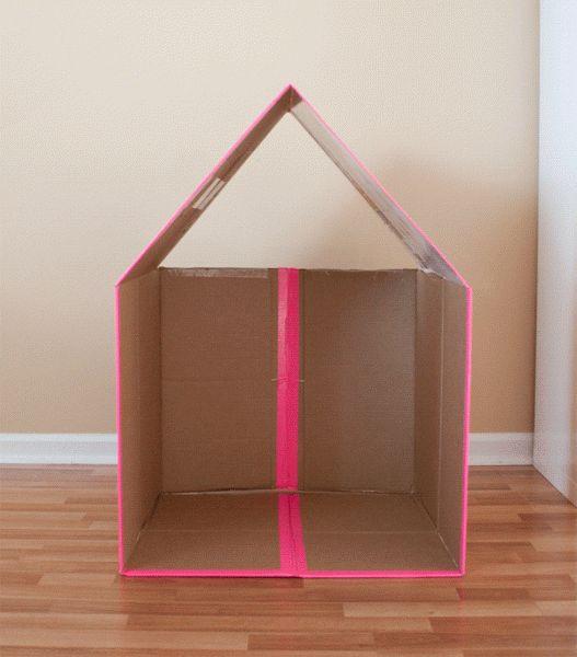 Top 26 des plus belles maisons faites avec des boites de carton ! - Top Astuces