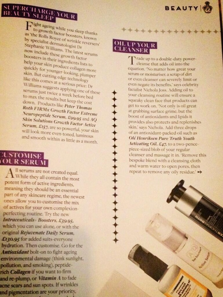 AQ Skin Solutions featured in Zest magazine