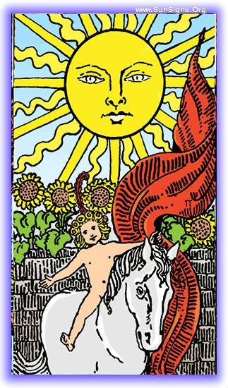 Major Arcana - The Sun | SunSigns.Org