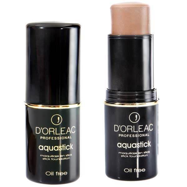 MAQUILLAJE D'ORLEAC AQUASTICK 621. Es un maquillaje en barra de base acuosa que proporciona un efecto muy refrescante en la aplicación y permite...