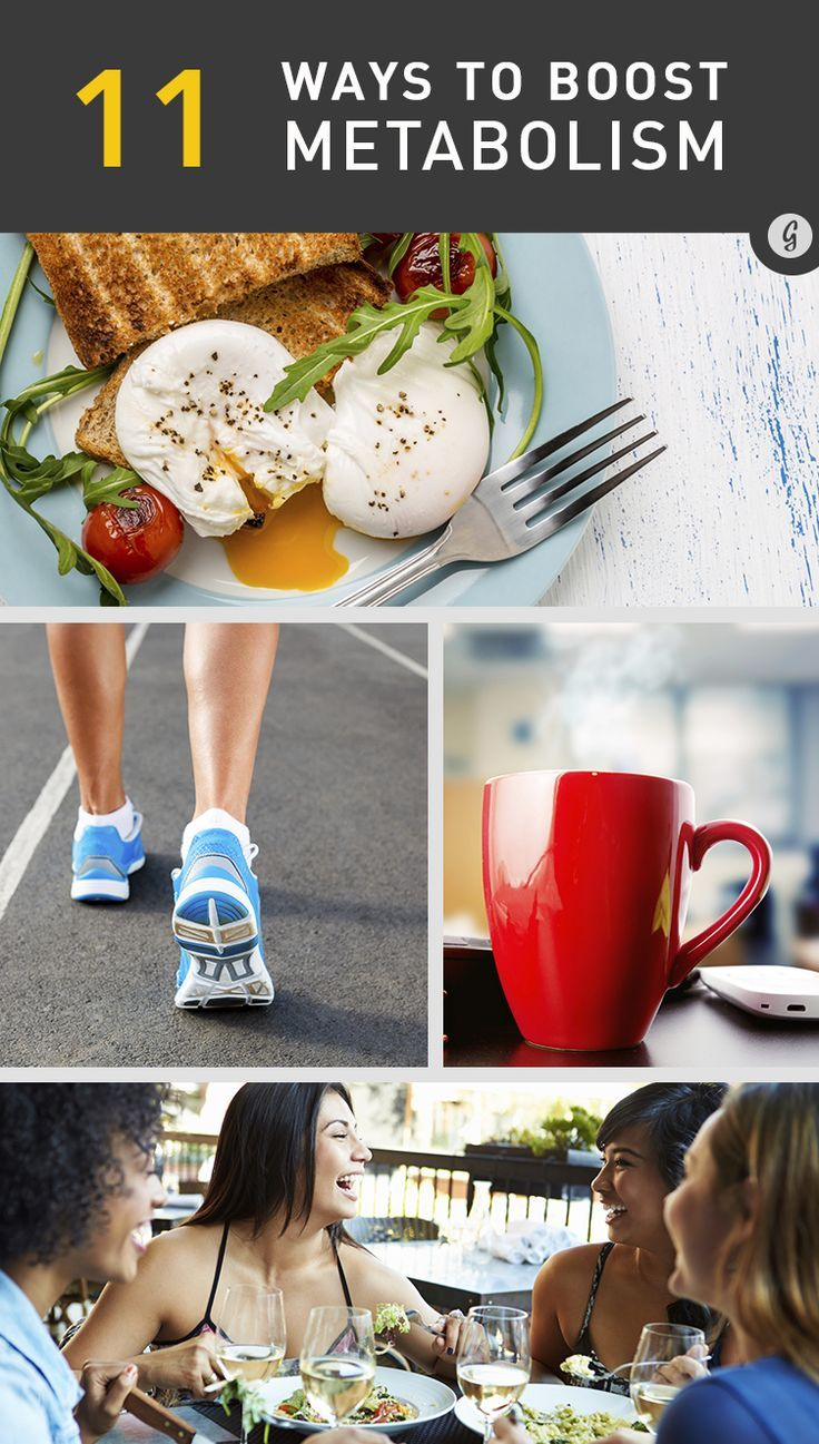 11 Science-Backed Ways to Boost Metabolism — Rev up your metabolism and keep energy levels strong all day long! #energy #healthy #tips #greatist