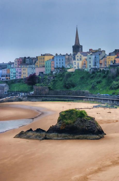 Tenby. August.2014. Such a pretty little beach town in Wales. Quaint shops, pretty beaches and lovely architecture. Really enjoyed it.