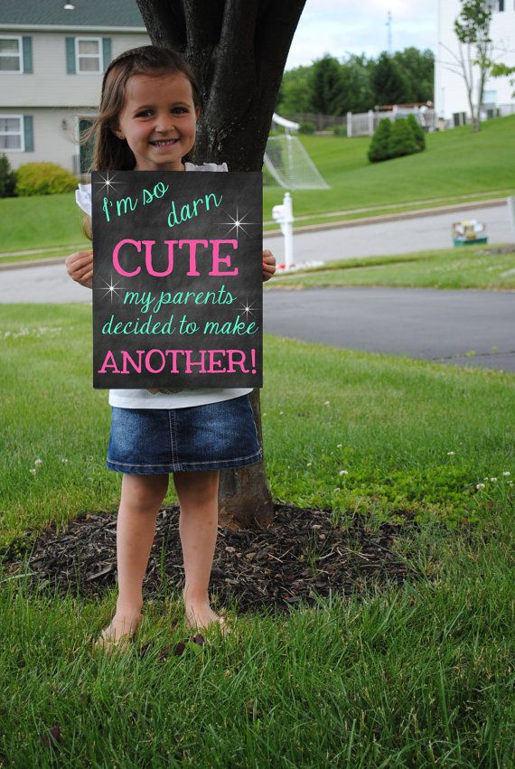 Printable Pregnancy Big Sister Announcement Photo prop // Pregnancy Reveal DIGITAL DOWNLOAD