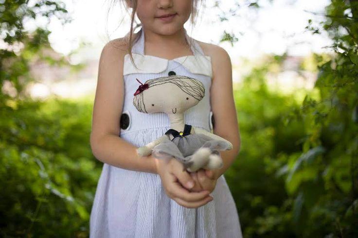 Matylda doll, @Kosi Łapci Toys fot. Amelia Hambrook