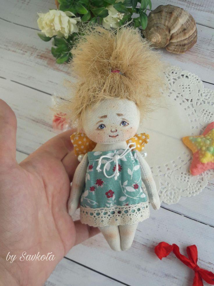 Little Angel Keychain doll by Savkota on Etsy