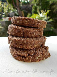 Biscotti al caffè Ricetta dolce vegano Alice nella cucina delle meraviglie