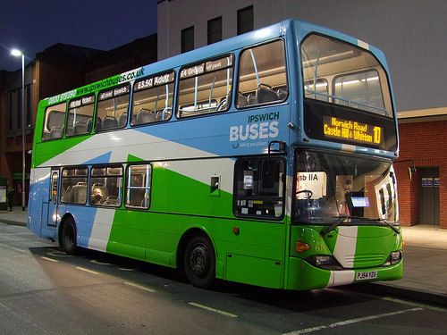 IB 61 (PJ54 YZU) Route 10, Tower Ramparts bus station, Ipswich 02-02-16 | Flickr - Photo Sharing!