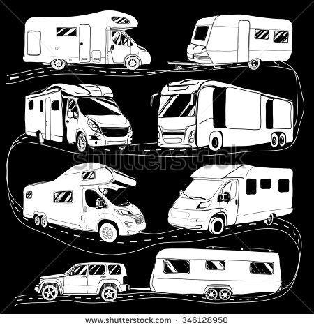 Image result for cartoon camper images