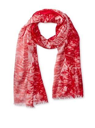 77% OFF Tahari Women's Mirrored Tropics Scarf, Pink