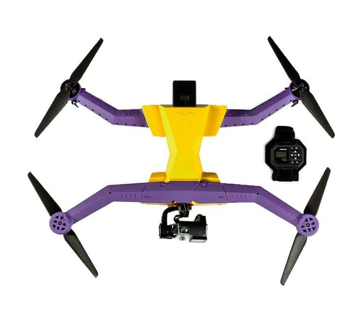 4 Autonomous Sports Drones for Extreme Photography