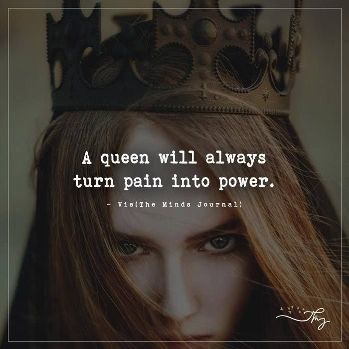 Yes. Queens never stay down forever. And if it's been a while, wait for a bigger miracle.