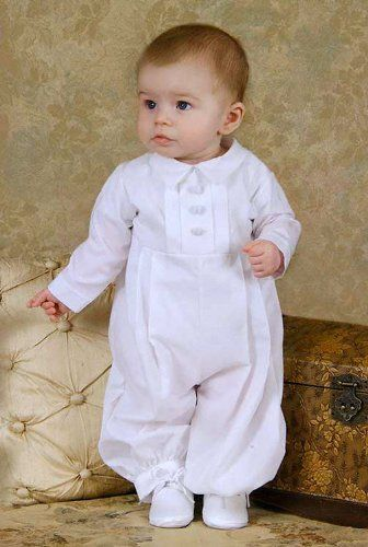 Handome Baby Boy Baptism Outfit is a Classic