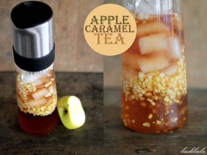"""Ice Tea Monday"" – Apple Caramel Ice Tea – kalt und heiß extrem lecker"