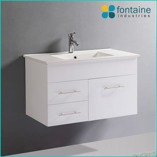 $315.00 Mobella 900 | Fontaine Industries. Installed Size: 900mmW x 460mmD x 520mmH. **wall mounted** black or white high gloss**