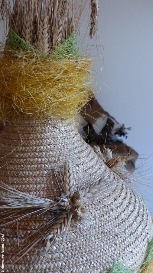 """Name of the hat: """"Inverted funnel"""" !  Titolo dell'opera: 'Imbuto rovescio' !!  Author: F.lli Mazzoni. #HatsDistrict"""