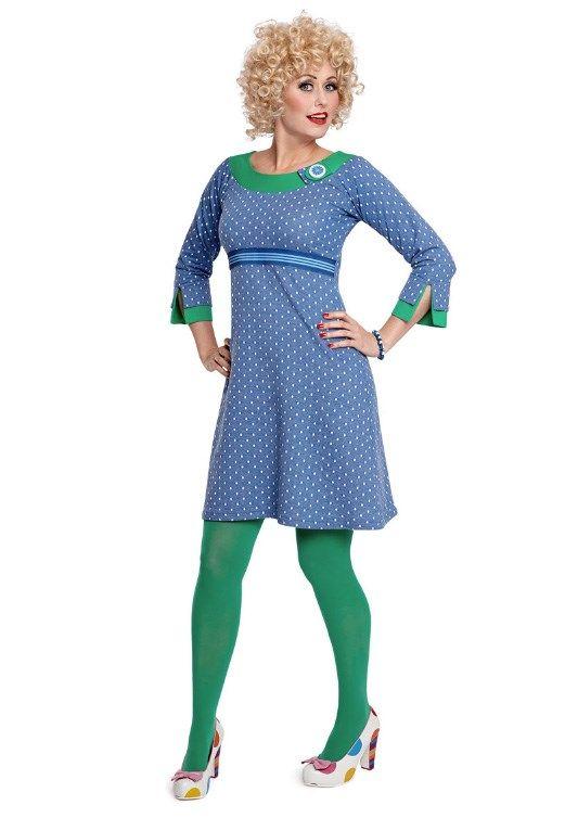 Margot kjole BARBIE FRENCH no 741 | dansk design med kant