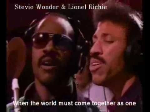 We Are The World (Lyrics, Singer's Names and Little History) - YouTube