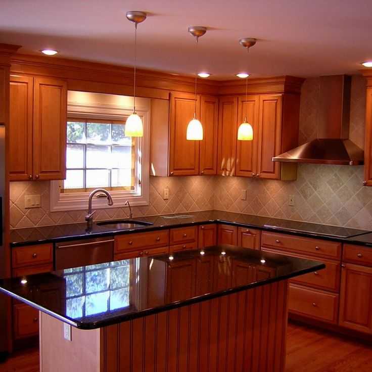 Red Cherry Wood Kitchen Cabinets: 25+ Best Ideas About Cherry Wood Kitchens On Pinterest